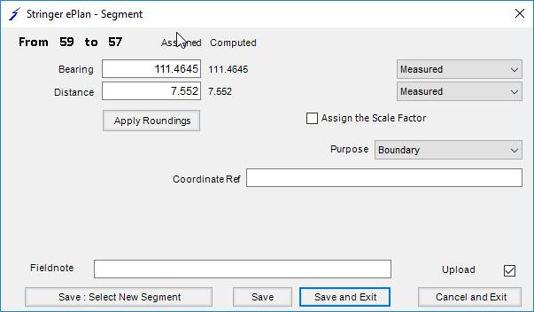 Segment List form Edit form